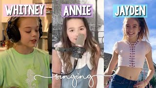 Whitney Bjerken | Annie LeBlanc | Jayden Bartels singing | April Bradley