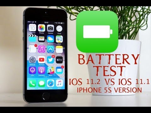iphone battery test ios 11 2 vs 11 1 battery test shocking iphone 5s 11646