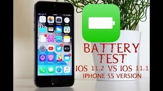 iOS 11.2 vs 11.1 Battery TEST!!! SHOCKING!!! (iPhone 5S Edition)