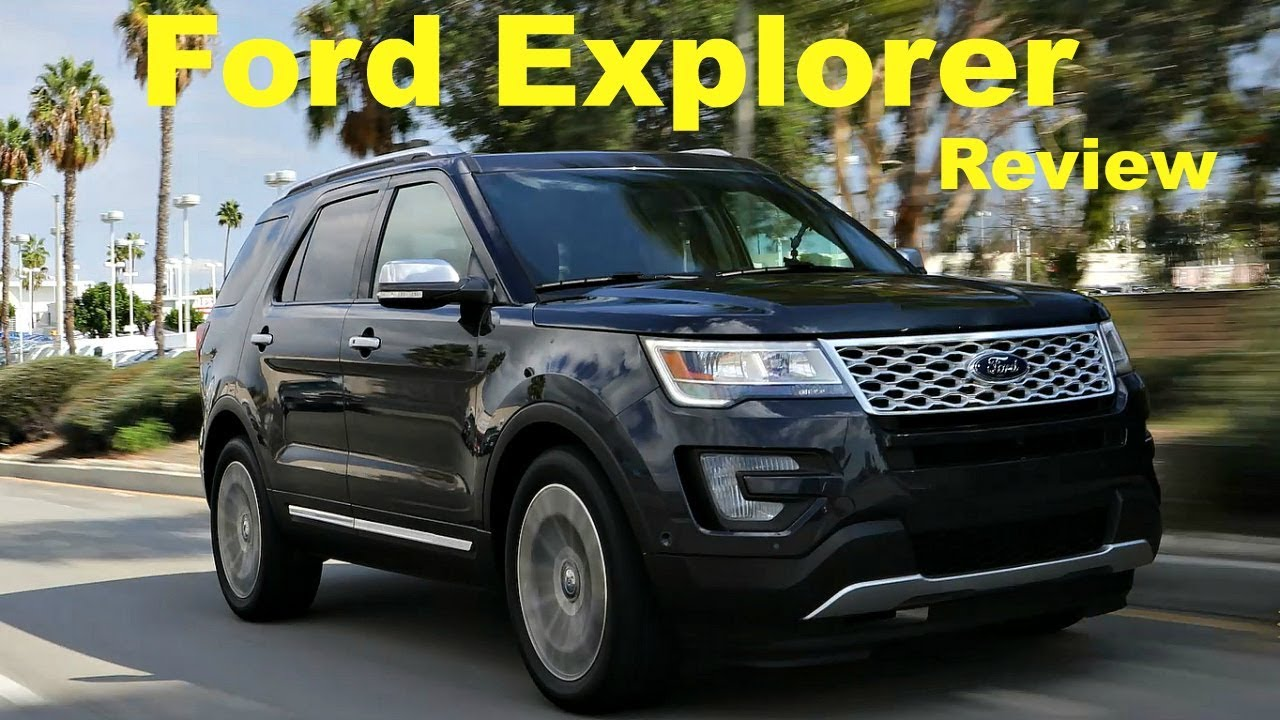 2017 ford explorer review and road test