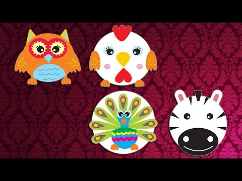 FUNNY PAPER PLATES - FUNNY ANIMALS - ZEBRA ROOSTER PEACOCK AND OWL  sc 1 st  YouTube & FUNNY PAPER PLATES - FUNNY ANIMALS - ZEBRA ROOSTER PEACOCK AND OWL ...