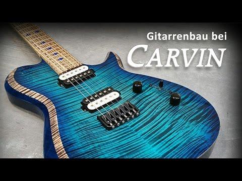 Music nStuff – Reportage: Gitarrenbau bei Carvin Guitars/Kiesel Guitars