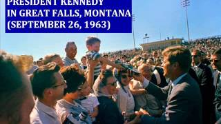 JFK IN GREAT FALLS, MONTANA (SEPTEMBER 26, 1963)