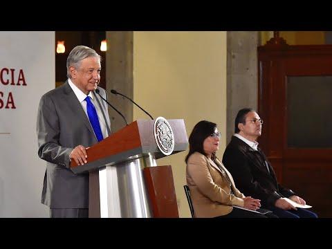 Pemex y Secretaría de Energía construirán Refinería Dos Bocas. Conferencia presidente AMLO