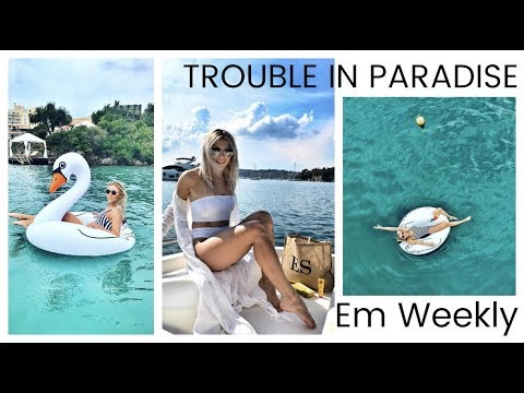 Trouble In Paradise? Disaster? Family Trip To Corfu, Greece Vlog! & DJI Spark Drone! Em Sheldon