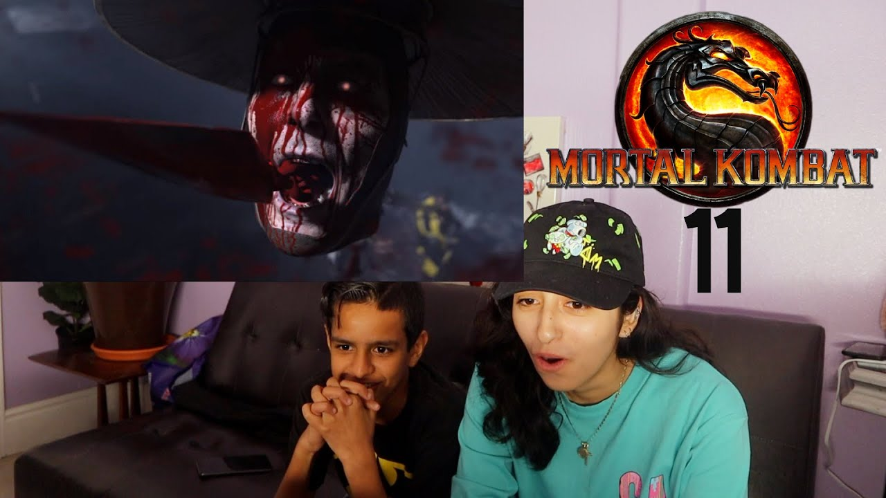 Mortal Kombat 11 – Official Announce Trailer - REACTION!!! - YouTube