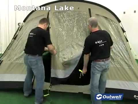 How to pitch the Outwell Montana Lake tent & How to pitch the Outwell Montana Lake tent - YouTube