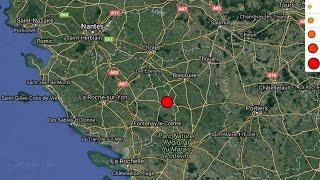 Un séisme de 4,8 ressenti en Vendée