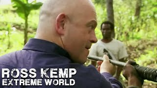 Ross Takes on Armed Men | Ross Kemp Extreme World