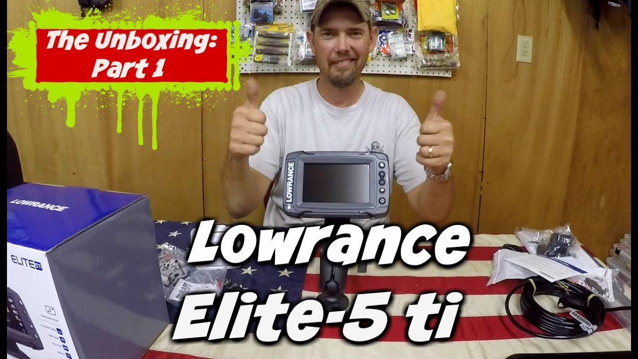 Lowrance Elite 5 Tipart 1 The Unboxing And Mounting Options Youtube Wiring Diagram