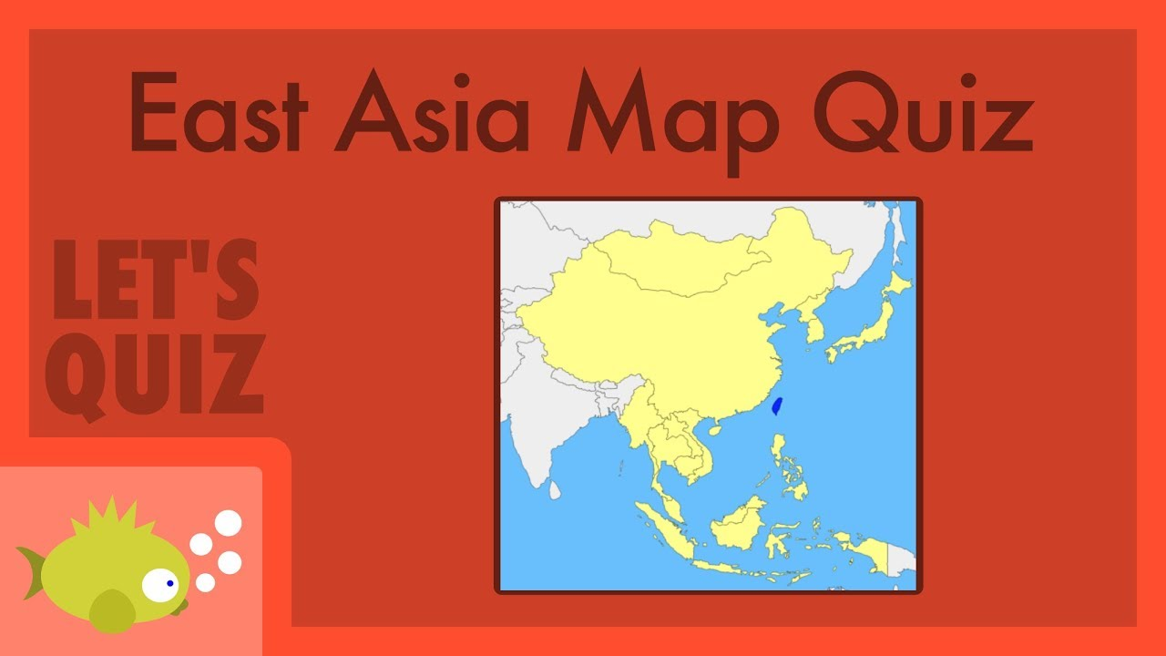Map Of Asia Fill In.Countries Of East Asia Fill In The Map Let S Quiz On Jetpunk