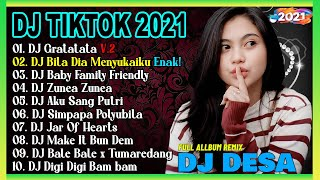 Download lagu DJ TIKTOK TERBARU 2021 - DJ GRATATATA FULL BASS VIRAL REMIX TERBARU 2021