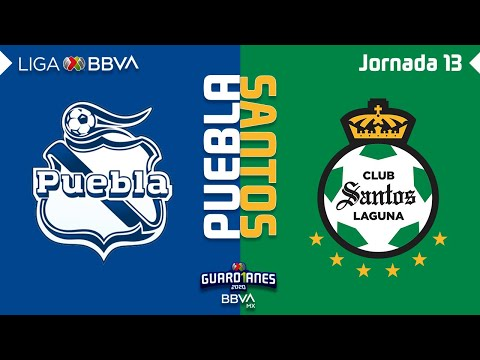 Puebla Santos Laguna Goals And Highlights