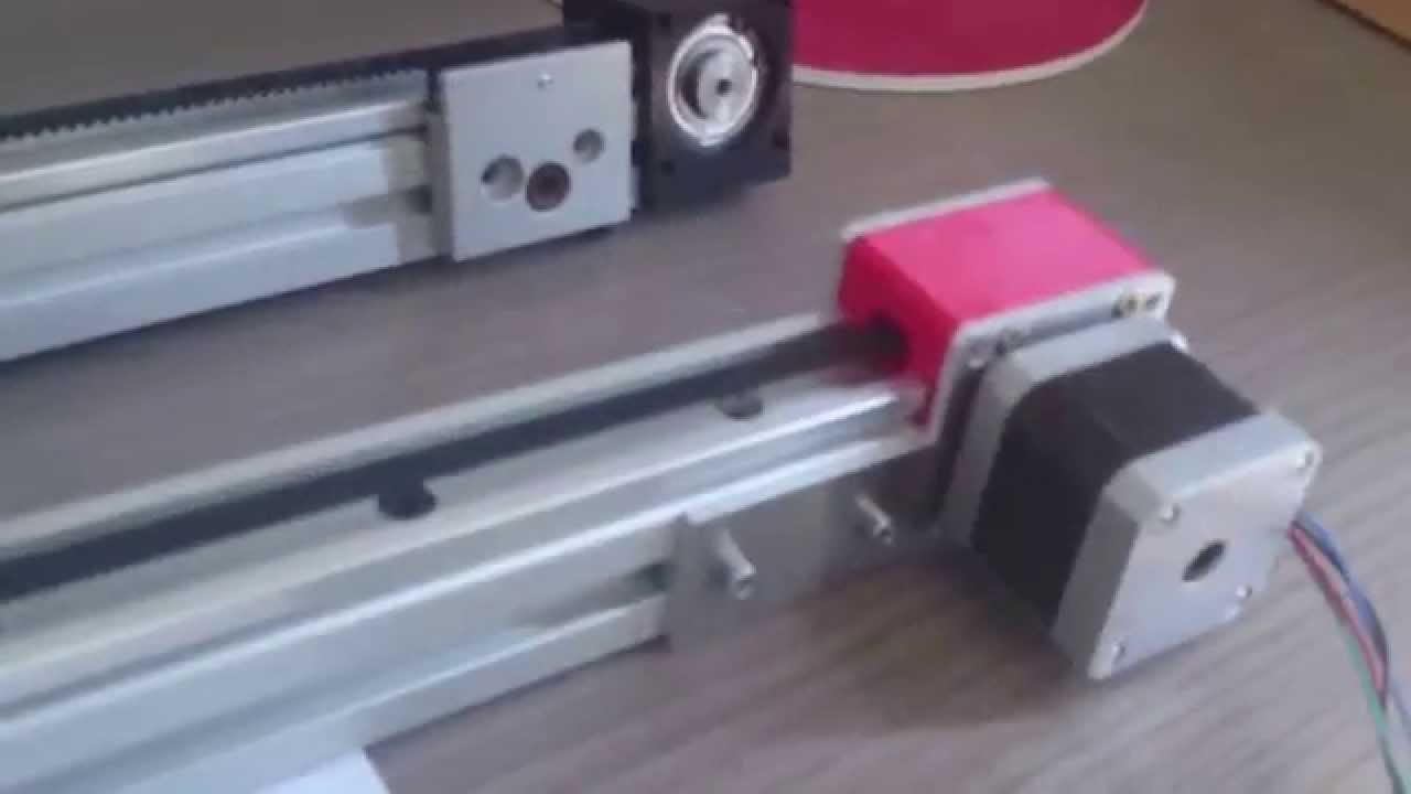 Linear Actuator For Diy 3d Printer Youtube