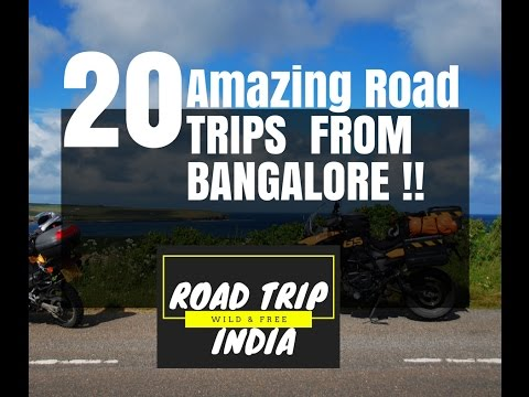 20 Amazing Road Trip From Bangalore | Road Trip India