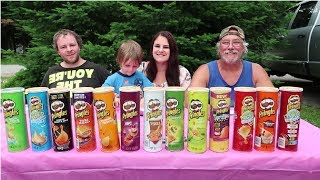 THE PRINGLE CHALLENGE! | Our Lives, Our Reasons, Our Sanity