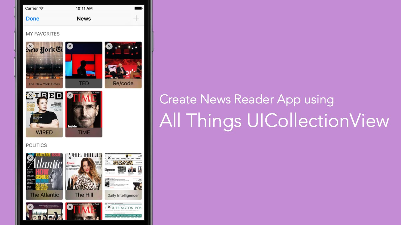 All Things UICollectionView Series Pt 3 - Custom Collection View Cell