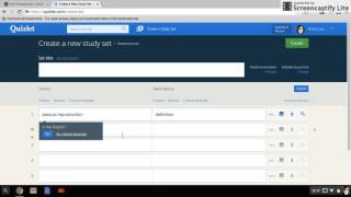 How to create flashcards in Quizlet