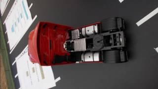 Exposition des miniatures de camion 1/43