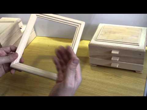 Изготовление шкатулки и рамки из дерева