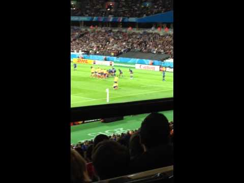 Romania vs France, Rugby World Cup 2015, Olympic Stadium, London!