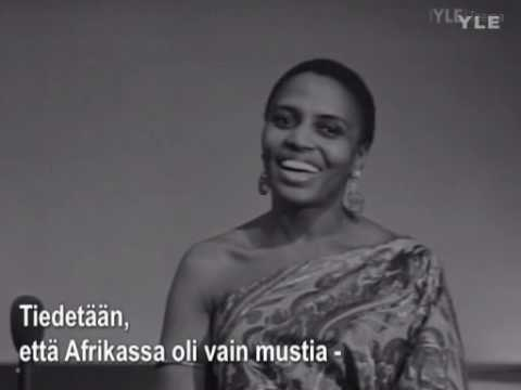 Miriam Makeba Interview 1969