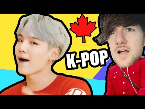 Canadian Tries K-POP | (BTS 방탄소년단 - 'DNA')