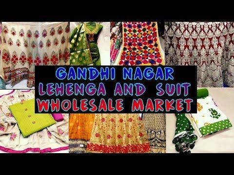Lehenga Chunni & Suit Wholesale Market, Bridal & Designer Lehanga, Cheapest Suit, Cloth Market