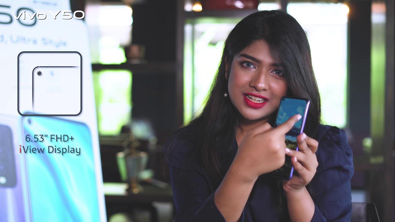 vivo Y50 | Brand friend Sarika Sabah