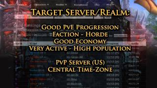 How to Choose a Server/Realm for World of Warcraft Fast & Easy!