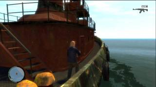 GTA IV :: Secret Tug Boat Room