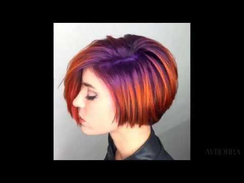 Колорирование на темные и светлые волосы