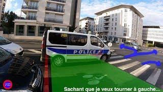 Des policiers étalent leur méconnaissance du code de la route.