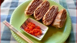 Fried Beef Pancakes / Cooking Chinese Food / 牛肉饼