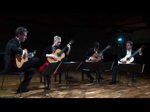 Cumba-Quin (Carlos Rivera) - NZ Guitar Quartet