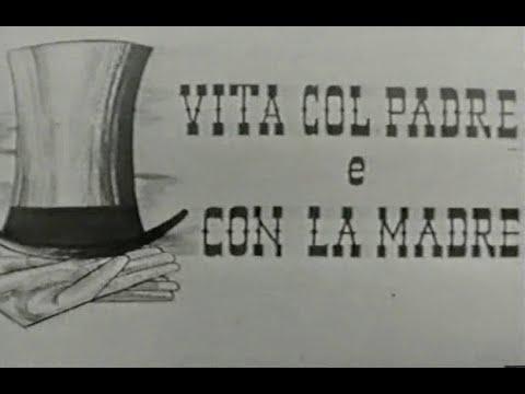 """SCENEGGIATO TV RARISSIMO 1960  """"VITA COL PADRE E CON LA MADRE""""  di D.D'Anza"""