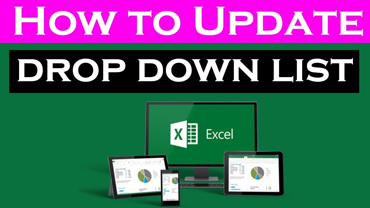 how to make a drop down list in excel 2016
