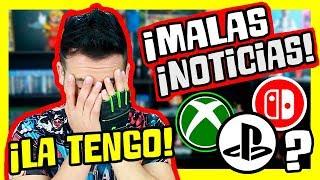 ¡¡¡MALAS NOTICIAS!!! ¡¡SI TIENES ESTA CONSOLA DEBES SABER ESTO!! - PS4, XBOX ONE Y NINTENDO SWITCH