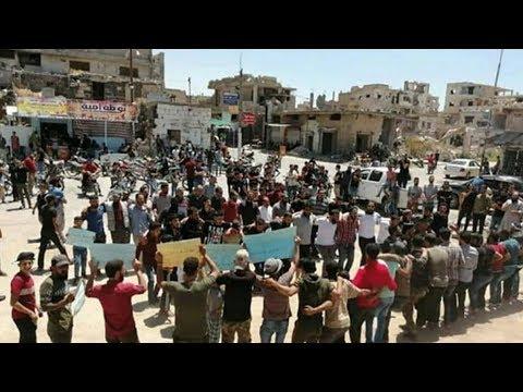 من الجامع العمري.. مظاهرة جديدة في درعا البلد ما السبب؟ - سوريا  - 12:53-2019 / 6 / 22