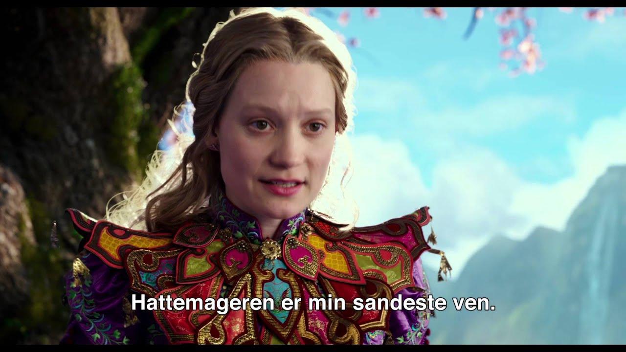 Alice i Eventyrland: Bag Spejlet Dansk trailer