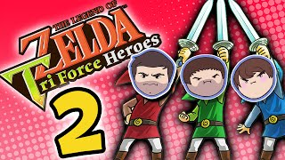 Zelda Tri Force Heroes: Not Jellyfish - PART 2 - Grumpcade
