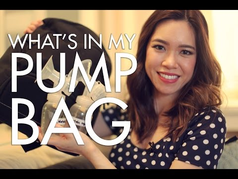 PUMPING at WORK: What's in my PUMP BAG