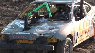Dresden Raceway | Dresden Spring Smash 2016 | Open Mini Demolition Derby