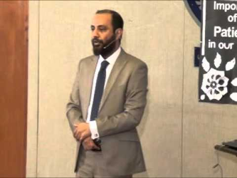 Topic: Patience,  Speaker: Kashif Mehmood ELC Sialkot,Pakistan
