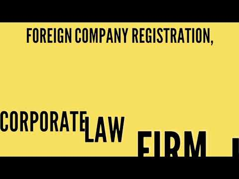 Foreign Company Registration, Corporate Law Firm Karachi, Pakistan