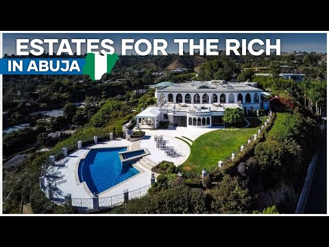 Top 10 Most Expensive estates in Abuja Nigeria Built for only the Rich