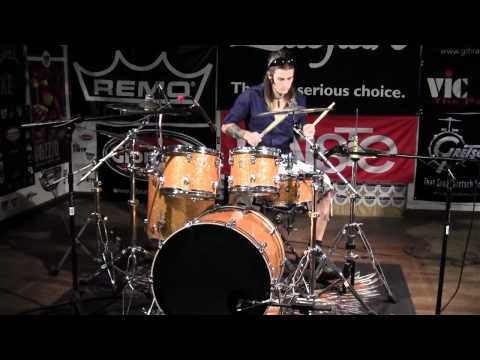 Greenbrier Percussion - Ludwig Keystone Orange Sparkle Drum Demo