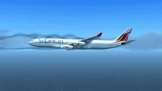 sri lankan airlines ul509 a340 300 vcbi vrmm