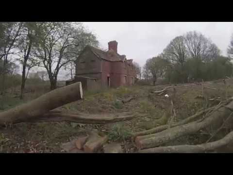Creepy abandoned house West Sussex