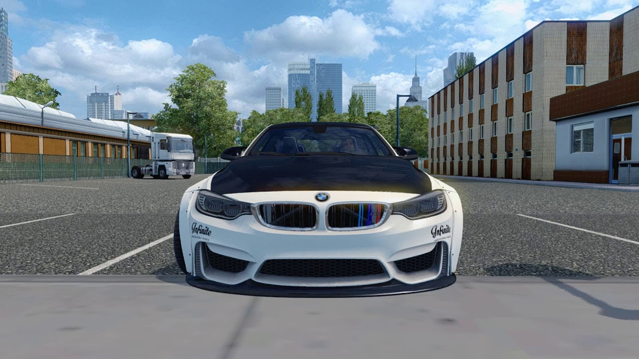 Ets 2 Mod Bmw M4 F82 2 0 Euro Truck Simulator 2 1 31 Youtube